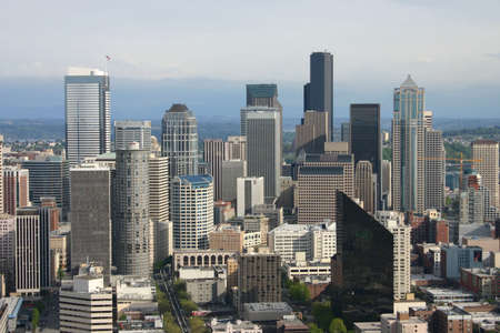 Seattle downtown view photo