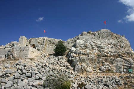 the golan heights: Nimrod castle - Golan Heights, Israel