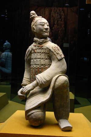 Terracotta warrior (Archer) Stock Photo - 666588