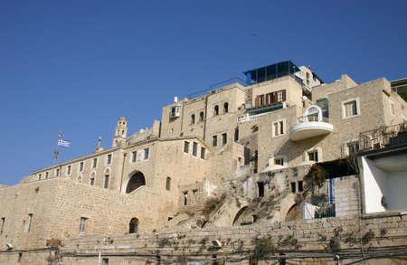 yaffo: Old Jaffa (Yaffo) puerto - vista desde el mar