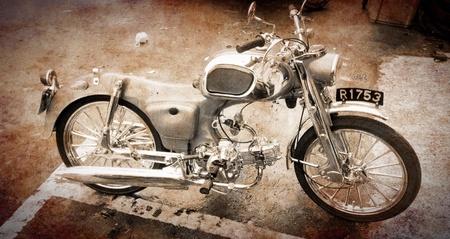 oldies: Oldies motorcycle  Stock Photo