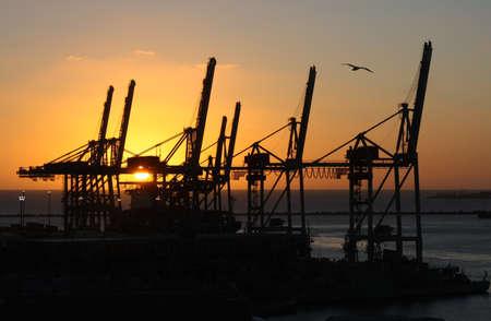 Industrial Sunset Stock Photo - 11965138