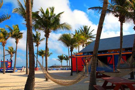 Scenic vacation in Bahamas Editorial