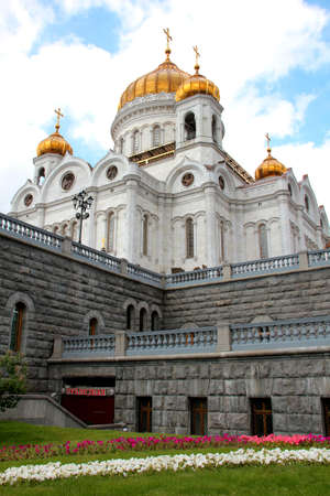 The temple of Christ the Savior in Moscow, Russia