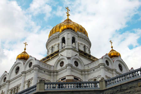 The cupola of the temple of Christ the Savior in Moscow, Russia Stock Photo - 12093358