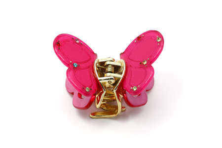 Hairpin for hair with Butterfly. photo