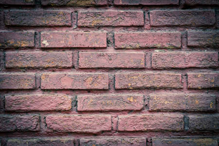 Texture walls of red brick for backgrounds Stock Photo - 13247393