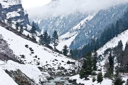 kashmir: Mountains, Sonamarg, Kashmir, India