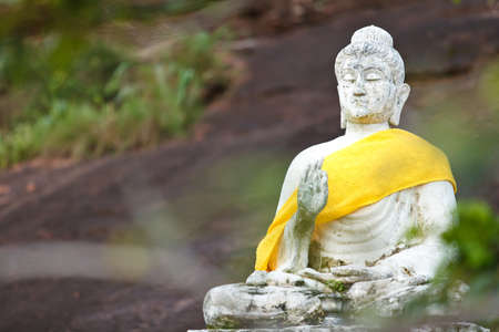 View of buddha statue in Thailand. Stock Photo - 13968789