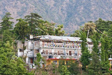 pradesh: Mcleod Ganj, Dharamsala, Himachal Pradesh, India. Stock Photo