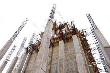 cantieri edili: Edificio in costruzione