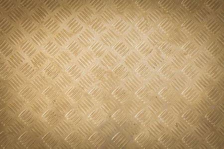 Background of metal diamond plate pattern. photo