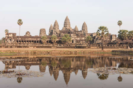 angor: Angor Wat, ancient architecture in Cambodia
