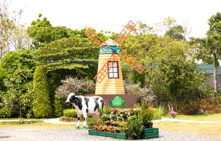 Turbine in Garden thailand Stock Photo - 18054350
