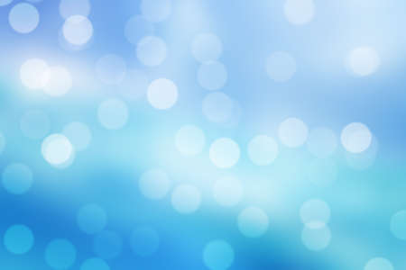 blue  bokeh background or blue bokeh wallpaper Stock Photo