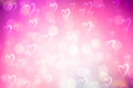 romantic background: pink valentine sparkle bokeh background or bokeh wallpaper