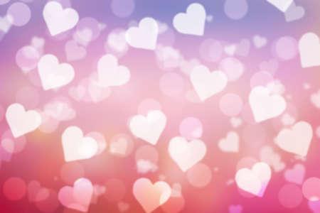 sweet valentine sparkle bokeh background or bokeh wallpaper Фото со стока