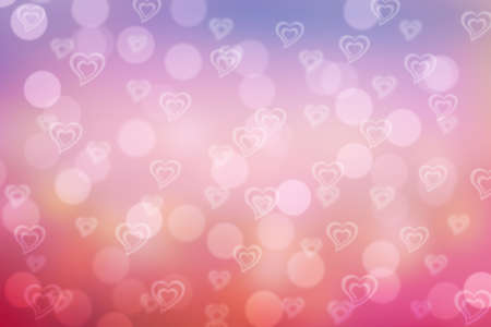 bubble background: sweet valentine sparkle bokeh background or bokeh wallpaper Stock Photo