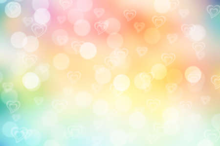 festive background: colorful valentine sparkle bokeh background or bokeh wallpaper