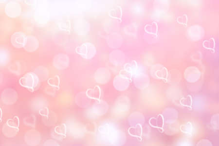 valentines day background: pink valentine sparkle bokeh background or bokeh wallpaper