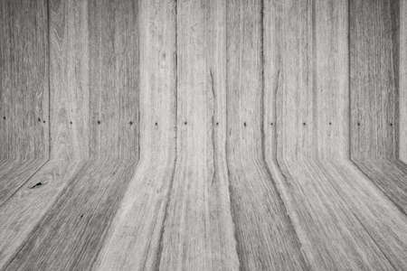 hasp: Black and white Wooden wall and wooden floor (Wood wallpaper)