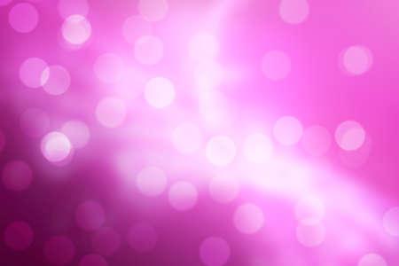 Pink Bokeh Background (Pink Blurred Wallpaper)
