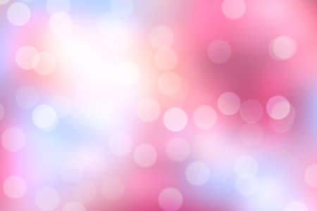 Pink Bokeh Background (Pink Blurred Wallpaper)