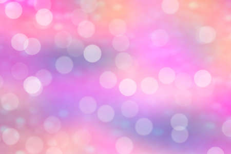 abstract wallpaper: Pink Bokeh Background (Pink Blurred Wallpaper)