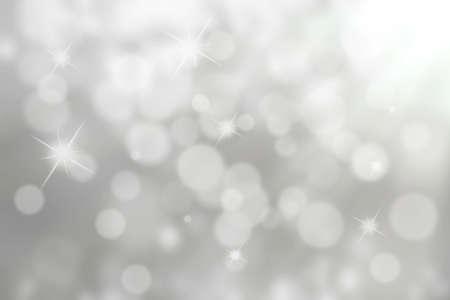 golden  gleam: Silver Bokeh Background (Silver Blurred Wallpaper)