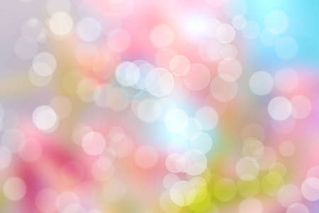 abstract wallpaper: Colorful Bokeh Abstract  Background (Colorful Blurred Wallpaper)