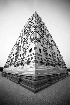 dome of hindu temple: Buddha Kaya Pagoda in Thailand Stock Photo