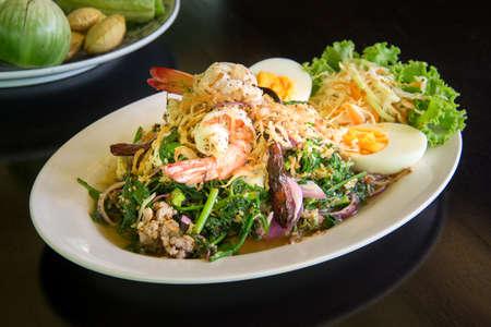 Good Veggie Spicey Salad, vegatable salad. Фото со стока