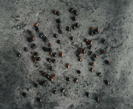 coffee bean on loft background. 免版税图像