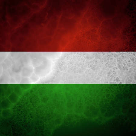 democracies: Hungarian flag. Amazing stone texture with multicolor stripes.