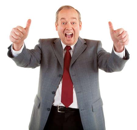 congratulations: Thumbs Up Stock Photo