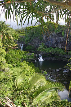 streamlet:  The Seven Sacred Pools, Hawaii