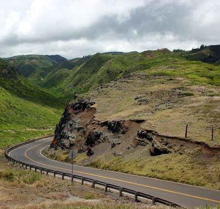 Driving Maui Islands Mountain Roads