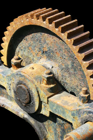 Old Rusted Gear