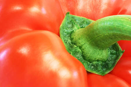 Red Pepper Close-Up Stock Photo
