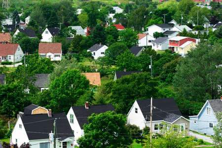 domains: Residential Stock Photo
