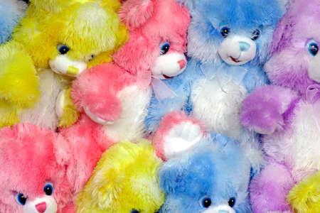 lookalike: Multicolored Teddy Bears