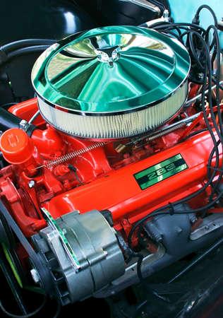 Vintage Automobile Engine