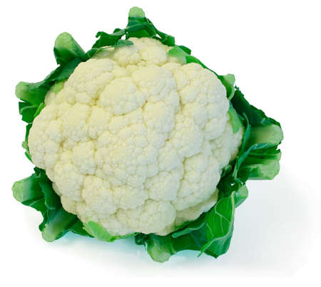 comestible: Cauliflower Stock Photo
