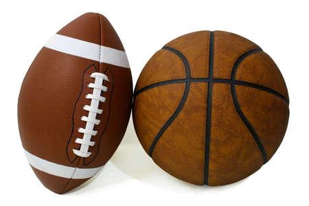 American Football and Basketball Stock Photo - 640183