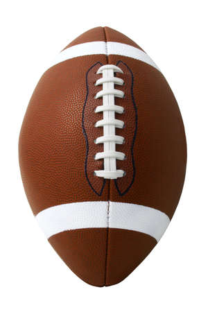 pigskin: American Football 3 Stock Photo