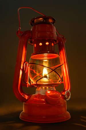 candil: Vieja Linterna Del Aceite Foto de archivo