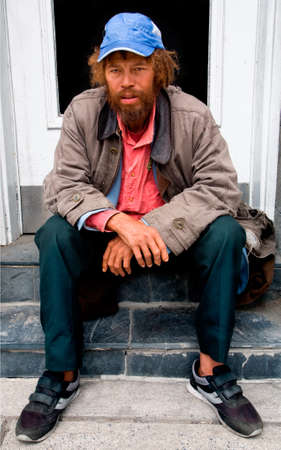 Homeless Person Imagens