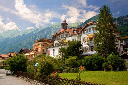 Brienz, le canton de Berne, Suisse
