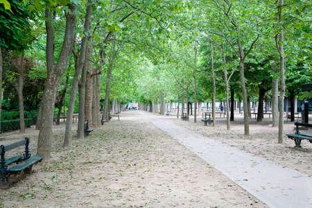 Jardin du Luxembourg, Parijs, Frankrijk Stockfoto