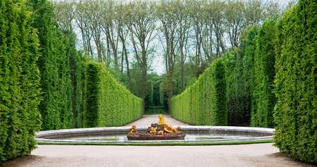 Versailles Garden, Frankrijk Stockfoto - 4988915